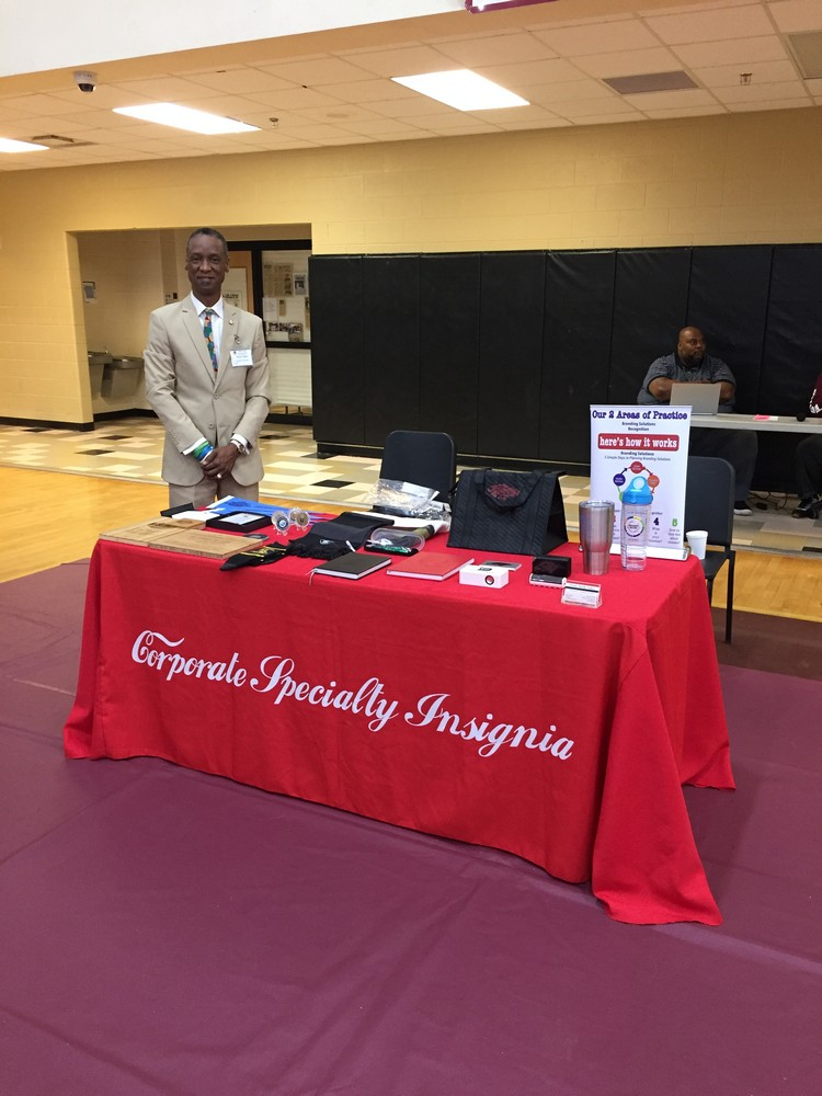 CSI Participtates In Tucker High School Career Fair