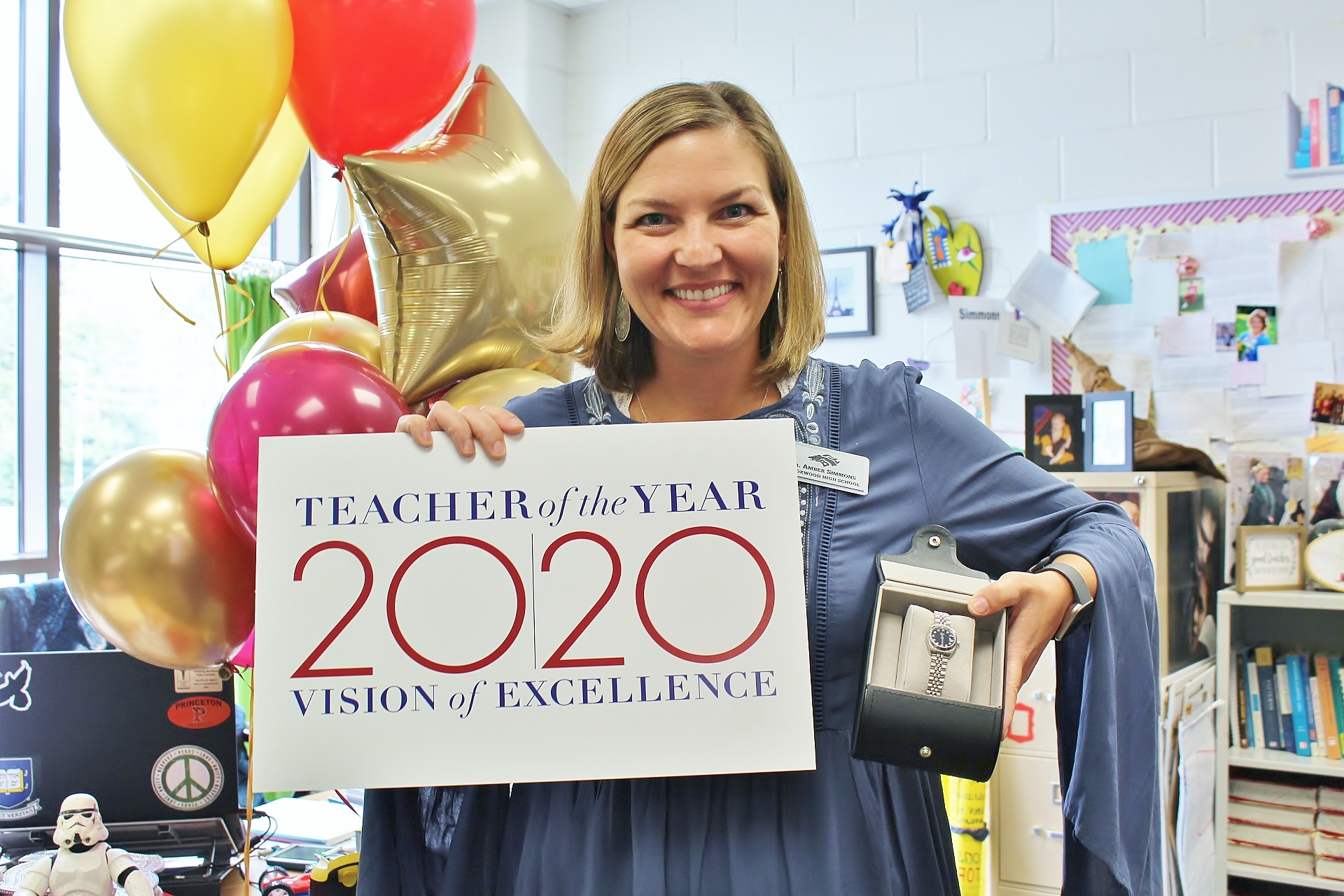 Amber Simmons TOTY 2019