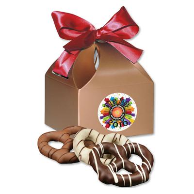 box of pretzels