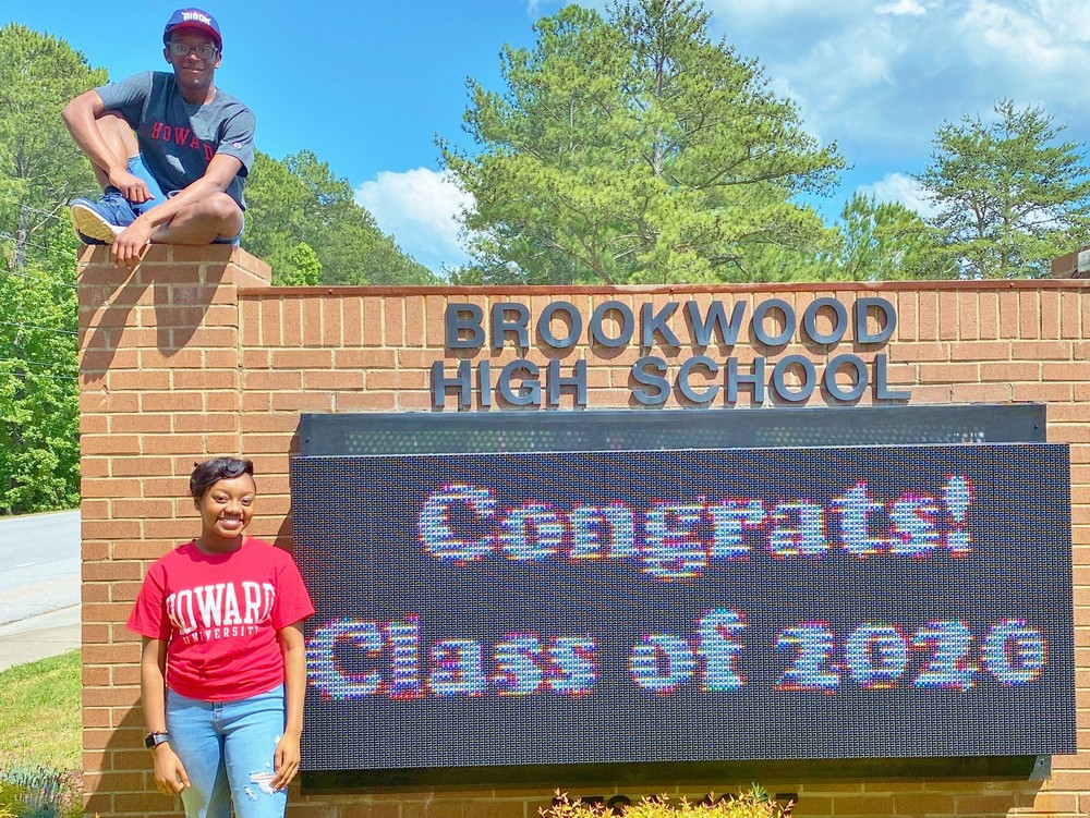 Brookwood High Seniors receive Karsh STEM Scholarships to Howard University