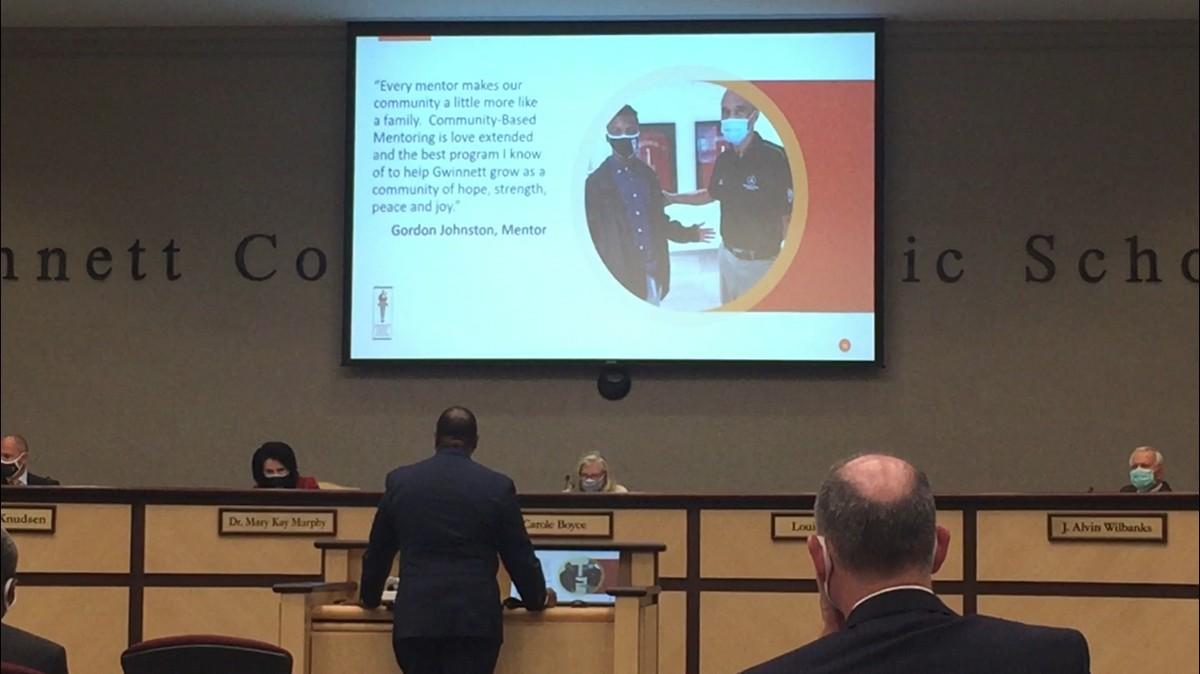 Director James Rayford Shares Report With GCPS BOE