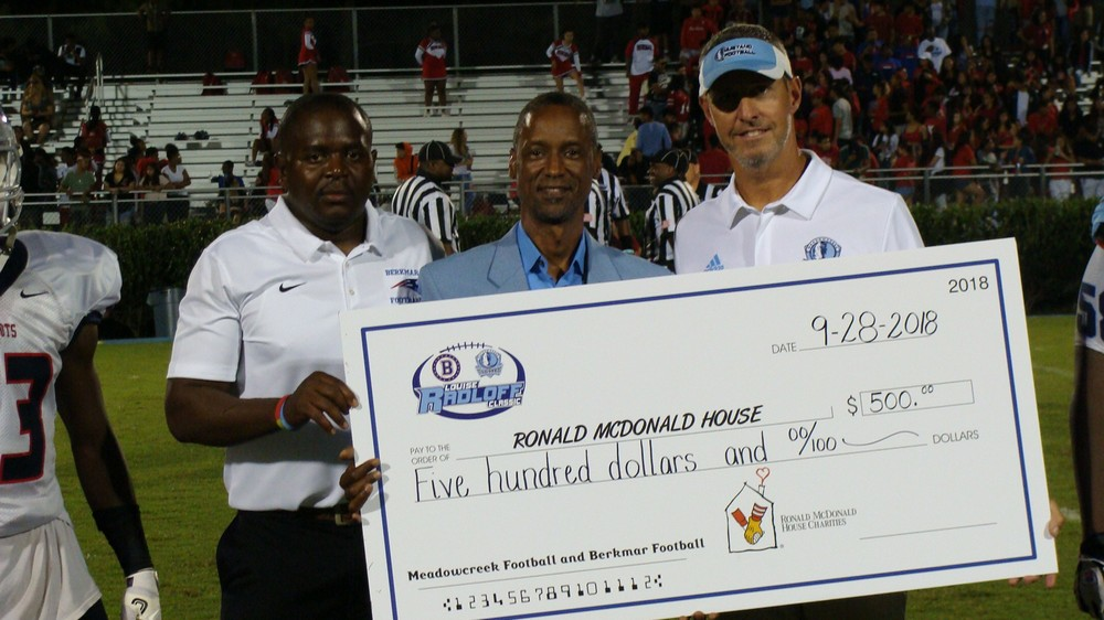 Berkmar HS vs Meadowcreek HS Classic Football Game