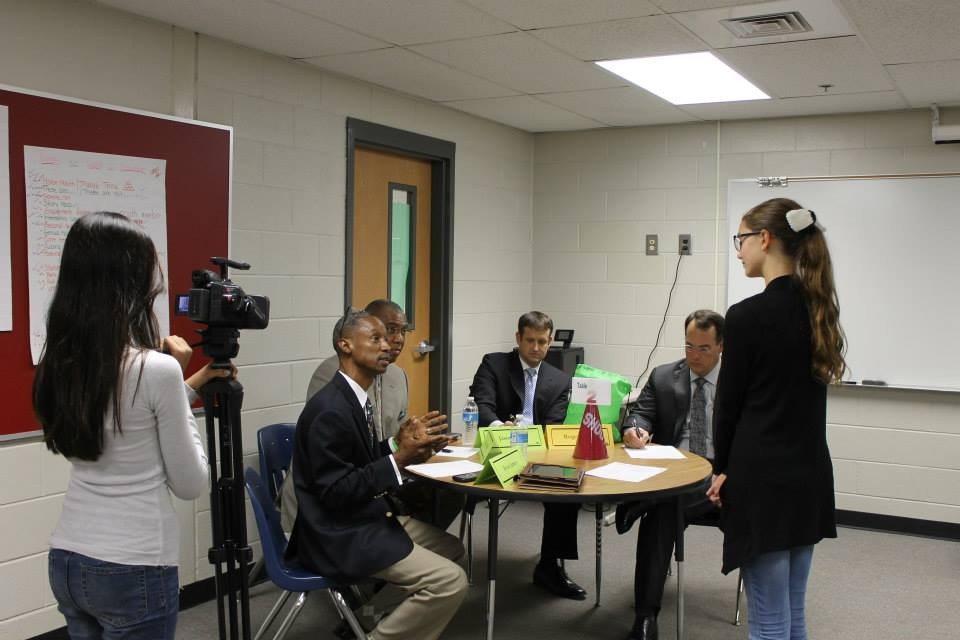 CSI Supports Crews Middle School Shark Tank