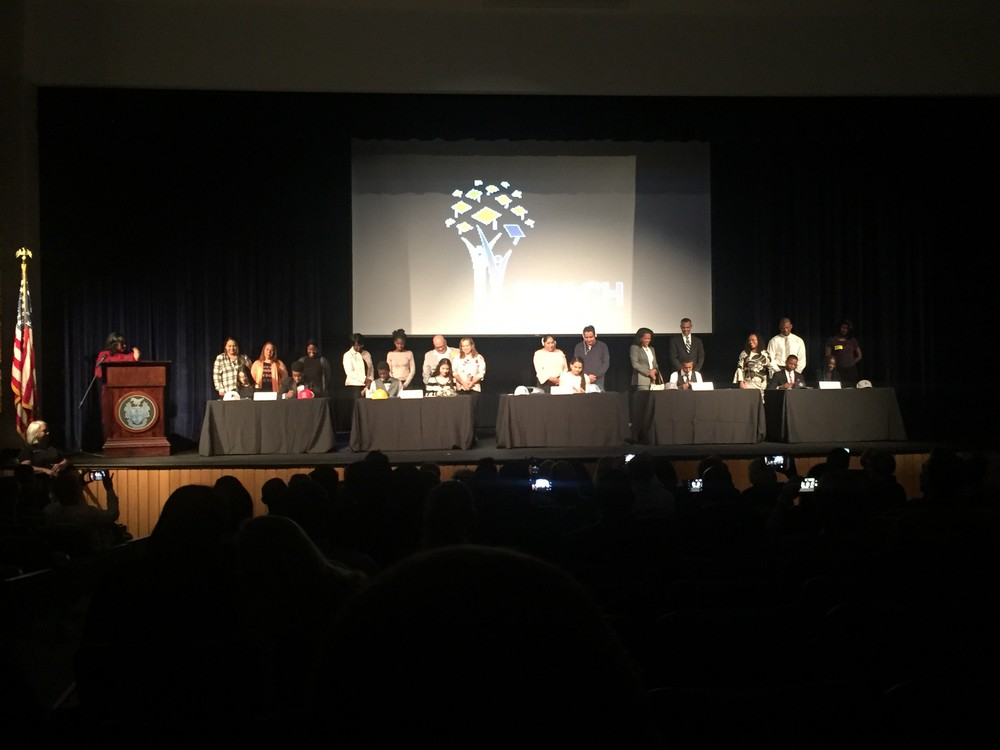 GCPS REACH Scholar Signing Ceremony